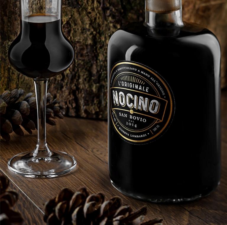 Nocino Packaging Design